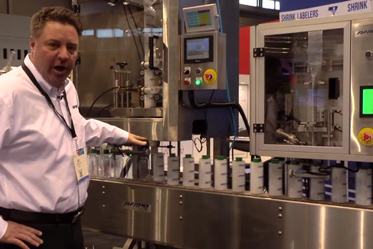 American Film & Machinery LX-150 Shrink Sleeve Labeler Product Highlight
