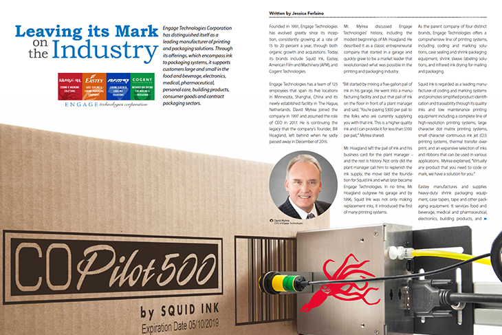 Engage Technologies Featured in Manufacturing In Focus